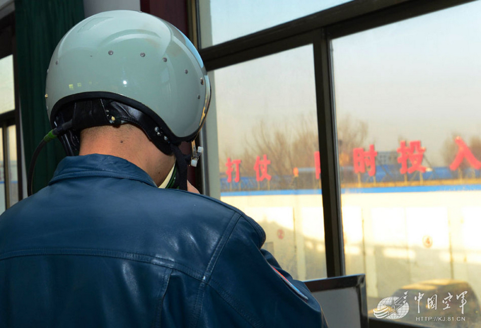 """中国空军07飞行标志图片_中国空军""""蓝军""""王牌金头盔飞行员曝光"""